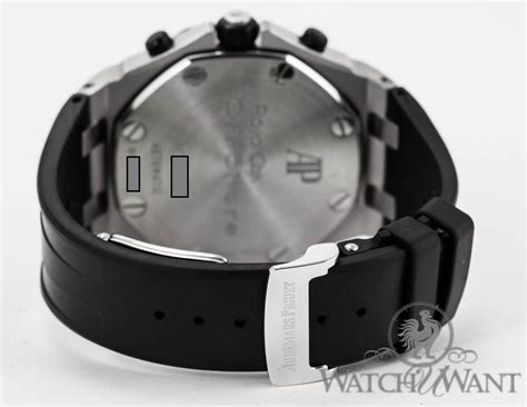 Audemars Piguet Black Rubber sold listing ap ap royal oak offshore rubber clad