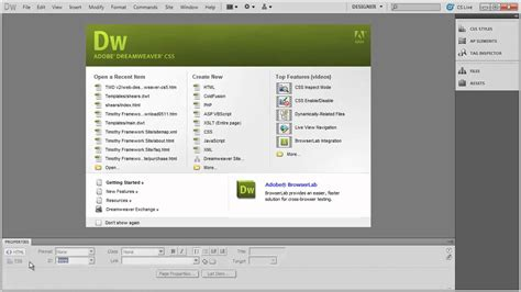 dreamweaver tutorial introduction 2 introduction to dreamweaver tutorial cs5 youtube