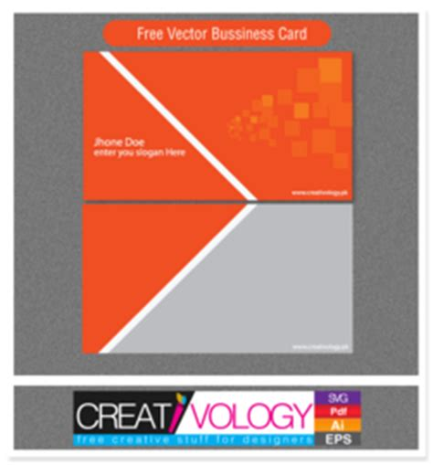 Business Card Template Png by Free Abstract Front Back Business Card Template Clipart