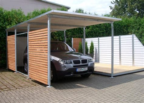 garages amp carports on pinterest modern carport car