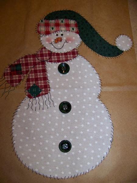applique patterns snowman angel  christmas tree