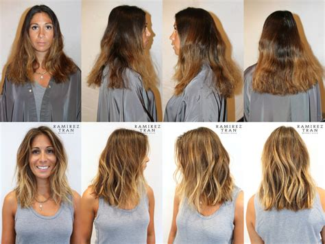 drastic hairstyle changes before and after photos how to dye your hair for fall without making a drastic