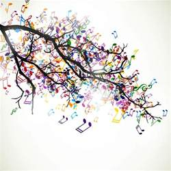 music notes wallpaper wall mural by loveabode com music wall murals examples
