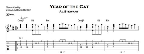 piano tutorial year of the cat al stewart year of the cat guitar lesson jerry s