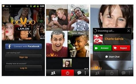 how to update oovoo on mac oovoo for android great for 4 way video chat