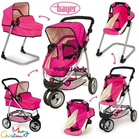 17 Terompa 2in1 Set Gamis Pink Dlx reborn baby doll strollers strollers 2017