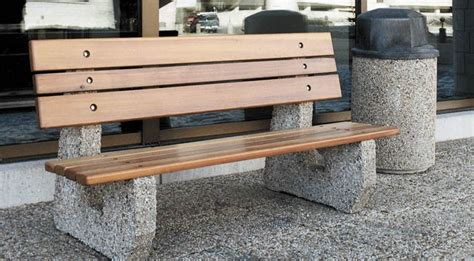 precast benches site furnishings concrete benches barkman