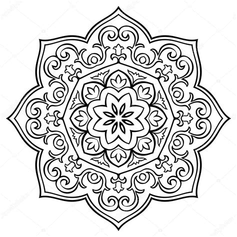coloring books realm 3 43 grayscale coloring pages of fairies flowers ponies elves and more realm grayscale coloring books for adults volume 3 books simple floral mandala stock vector 169 matorinni 106454450