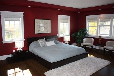 red bedroom walls red bedroom master bedroom pinterest