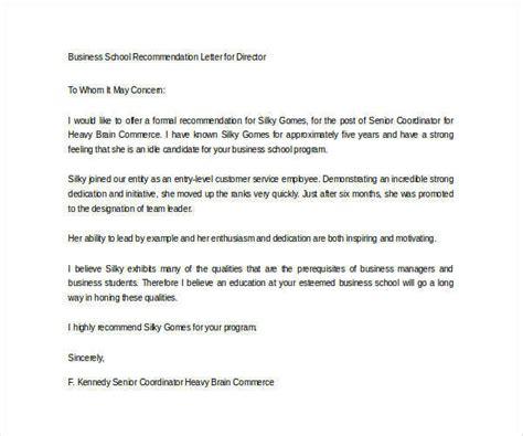 Mba Recommendation Letter Weak by Application Letter For Fresh Graduate Commerce