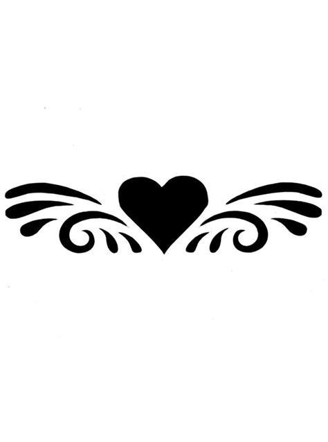 easy heart tattoo designs valentines for gt simple designs designs