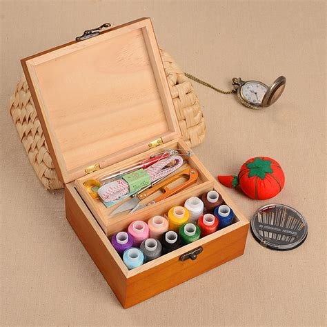 Handmade Threads - handmade diy sewing kit storage box multi function