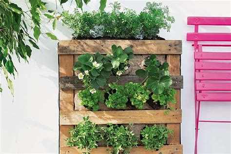 How To Build A Pallet Vertical Garden And A Diy Plastic How To Make A Vertical Wall Garden