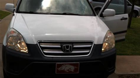 2005 honda crv light headlight bulb replacement service 2005 honda cr v high