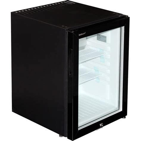 Mini Fridge Glass Door Motel Style Silent Mini Bar Fridge With Glass Door And Lock 40ltr
