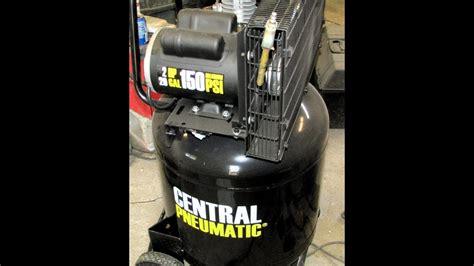 harbor freight central pneumatic  gallon psi air