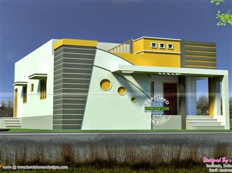 indian house design portico tamilnadu house exterior