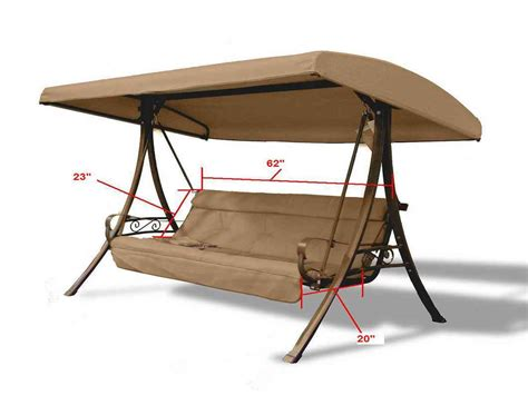replacement canopy and cushions for patio swings 13 small dressers at walmart sterilite 4 drawer
