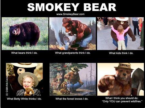 Smokey The Bear Meme - smokey the bear smoking memes
