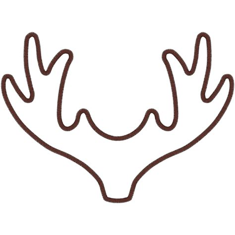 top reindeer antler outline images for pinterest tattoos