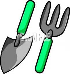 garden tools a set of gardening tools royalty free clipart picture