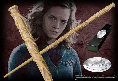 Hermione Granger Wand Description by Hermione Granger Character Wand The Noble Collection Uk