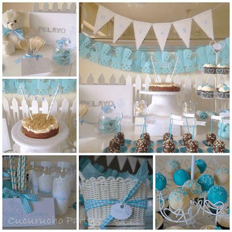 Mesa De Postres Para Baby Shower by Mesa De Postres Para Baby Shower De Ni 241 O Con Chocolate