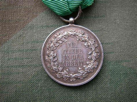saxony loyalty medals germany imperial  orders decorations  medals   imperial