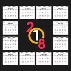 Calendario 2018 Baixar Calend 225 2018 Baixar Vetores Gr 225 Tis