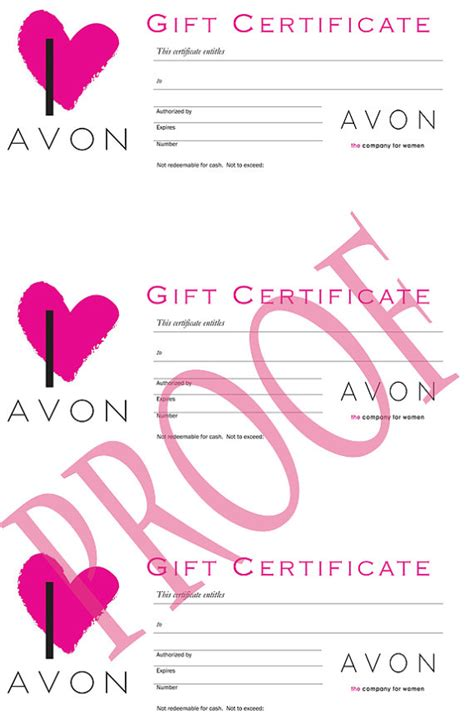 Where Can You Buy Etsy Gift Cards - avon gift certificates digital download by labelsforyou on etsy