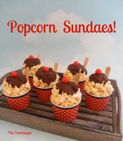 Popcorn Sundae Cups   Fun Family CraftsFun Family Crafts