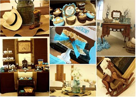 Cowboy Baby Shower Ideas by Western Cowboy Baby Shower Ideas Photo 1 Of 69