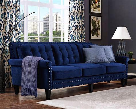 blue velvet sofa bed navy blue velvet sofa bed energywarden