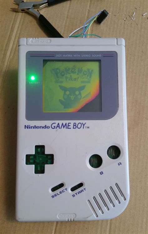game boy bivert mod gameboy combo mod when one mod just isn t enough classy