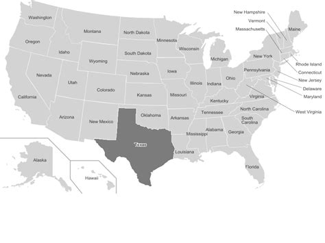 us map of texas file us map texas highlighted png