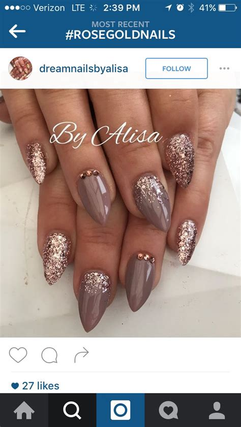 winter nail colors on pinterest winter nails nail best 25 taupe nails ideas on pinterest gold manicure