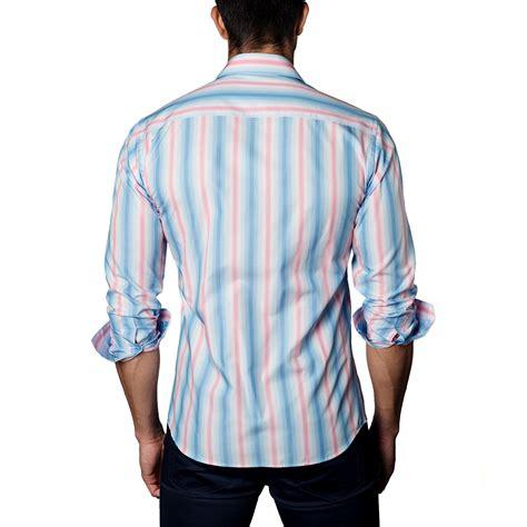 light pink button up shirt button up shirt light pink blue s jared lang