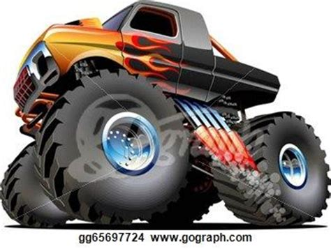 monster truck cartoon videos 103 best images about drawing of ford on pinterest