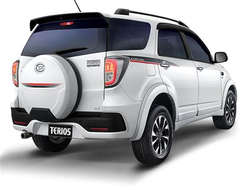 Custom Cover Ban Serep Mobil Daihatsu Terios Custom Sarung No 2 10 harga dan spesifikasi daihatsu terios 2016