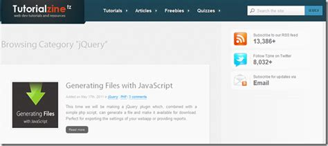 jquery tutorial video jquery resources articles and tutorials for developers