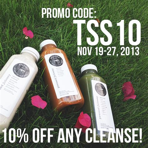 Detox Promo Code by The Sorority Secrets Detox Diary With Pressed Juicery