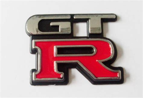 Emblem Mobil Gtr 1 china chrome badges gtr letter emblem photos pictures made in china