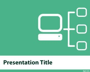 Free Computer Network Powerpoint Template For It Computer Network Ppt Templates Free