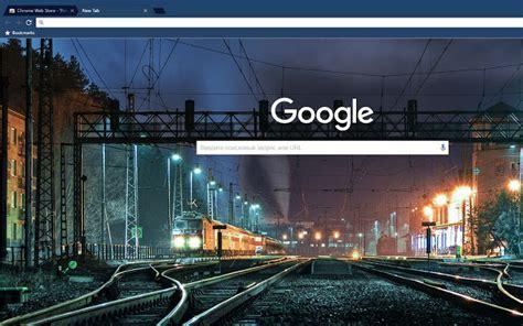 Midnight Train Dark Blue Theme   Chrome Web Store
