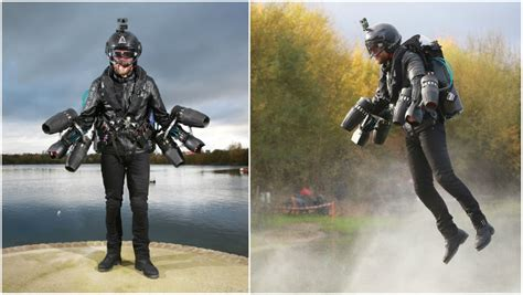 video real life iron man sets jet suit speed record