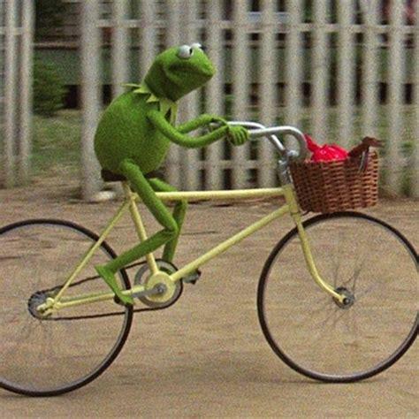 kermit meme generator kermit bike meme generator