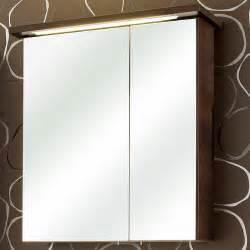 armoire de toilette portes miroir avec 233 clairage led
