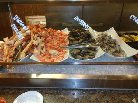seafood at the buffet at monte carlo casino picture of
