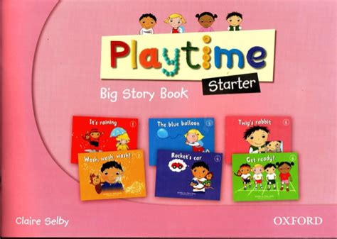 playtime starter story book