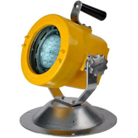 Lu Sorot Led Explosion Proof canfield joseph western technology 7100 slxp led swivel mounted explosion proof light
